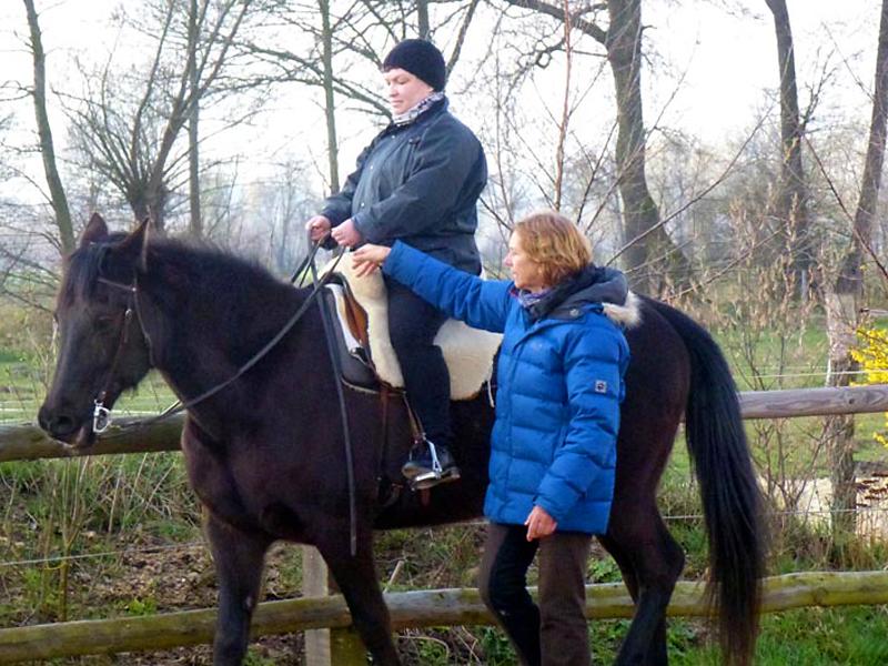 Dagmar Fuchs - Reitunterricht für Frauen